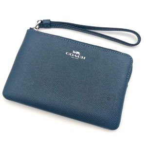 Coach - Wristlet - Soft Denim Blue